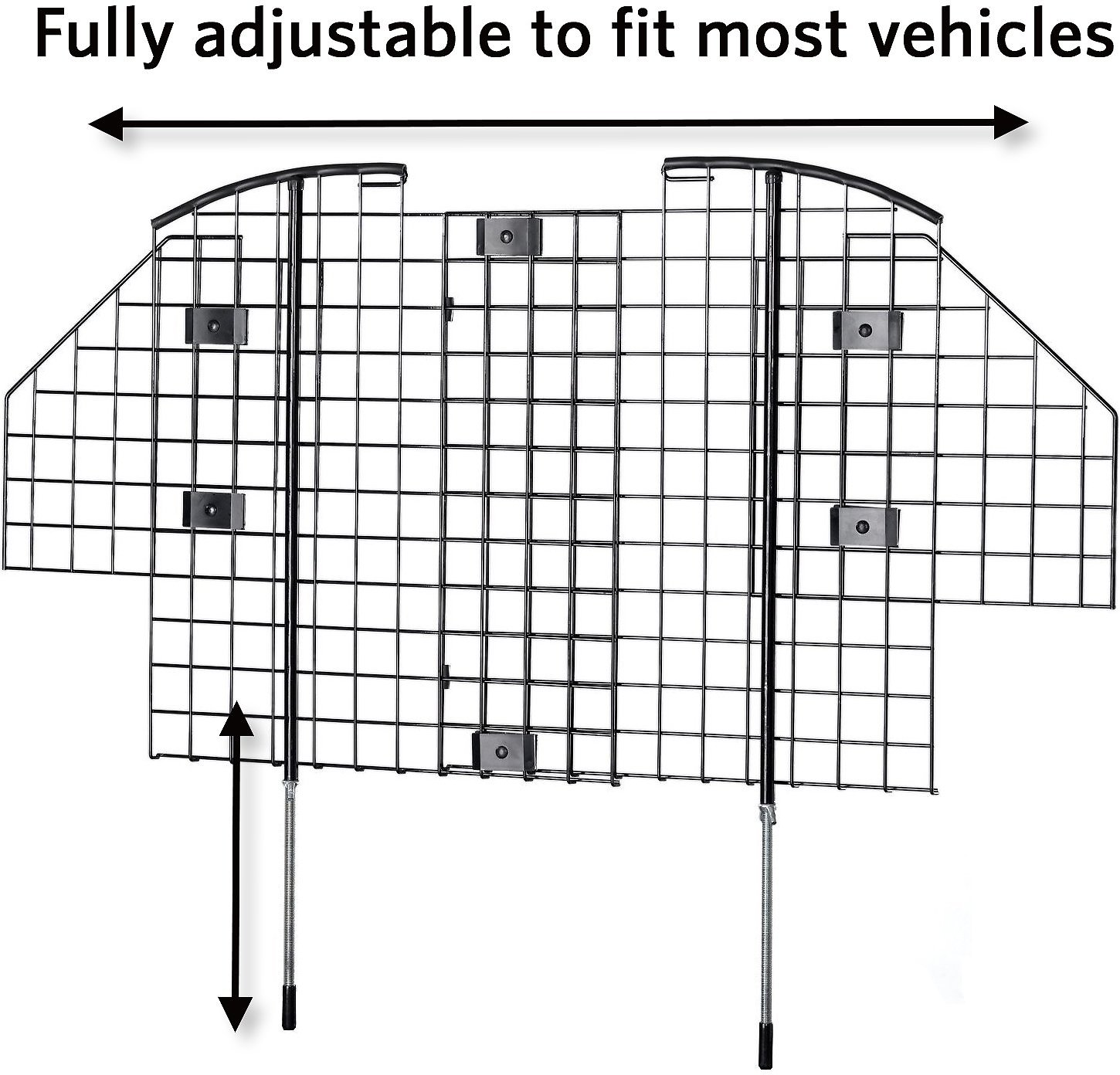Midwest Wire Mesh Universal Suv Car Barrier