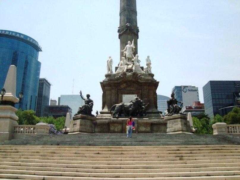 Monumento al Ángel de la Independencia en México