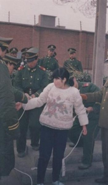 """Liu Jinfeng, one of 10 Chinese """"beauties"""" that have been given the death penalty over the past 30 years in China."""
