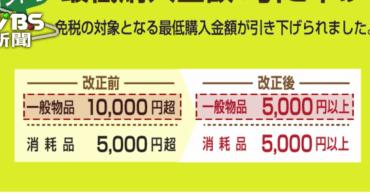 (日本購物退稅) 百貨公司退稅手續這樣做 日本官方資訊 2016年5月起,退稅方式調整