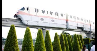 (日本) 東京迪士尼度假區 超夢幻的迪士尼米奇單軌電車