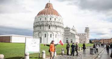 (歐洲) 義大利行旅 世界文化遺產認定世界七大奇蹟 Piazza 比薩斜塔 Piazza del Duomo