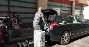 (巴黎Fun暑假) OMG 超重行李要價960歐!法國郵政機場寄貨實錄