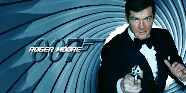 Hasil gambar untuk james bond role roger moore