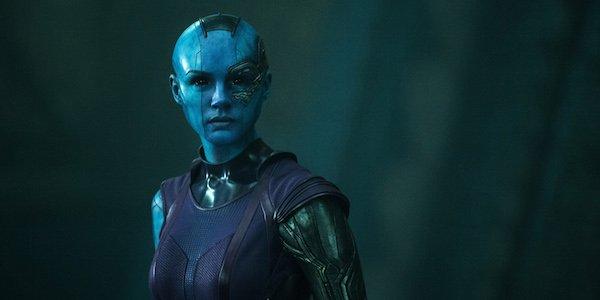 Resultado de imagem para nebula guardians of the galaxy