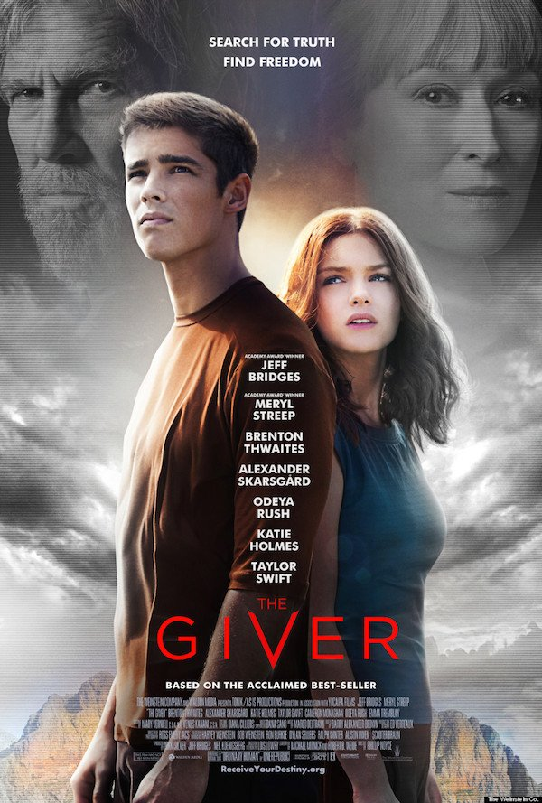 Image result for the giver poster