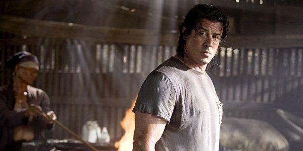 Sylvester Stallone in Rambo 4