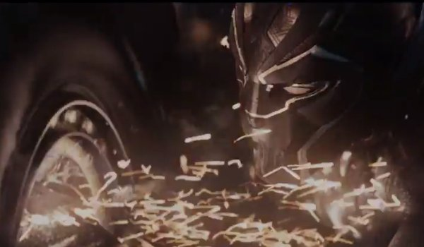 black panther Sparking tire