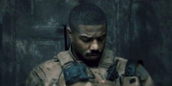 Michael B. Jordan in a teaser for Tom Clancy's Without Remorse