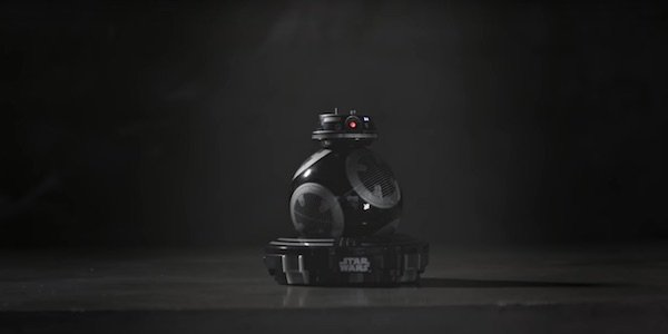 BB-9E toy for Star Wars: The Last Jedi