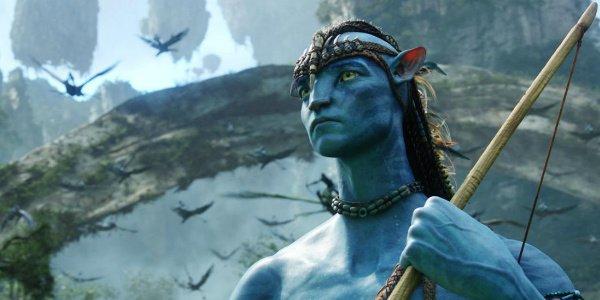 guerrier na'vi avec arc avatar