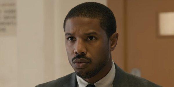 Michael B. Jordan in Just Mercy