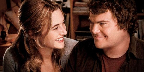 Jack Black and Kate Winslet in The Holiday
