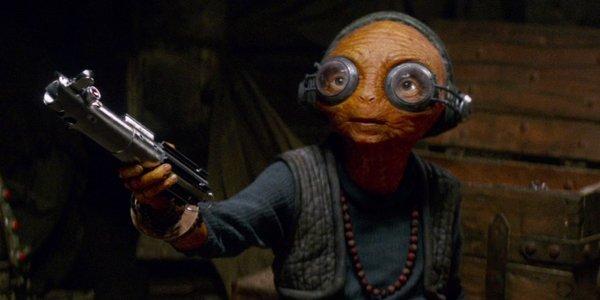 Lupita Nyong'o Maz Kanata Star Wars