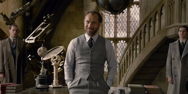 Jude Law as Albus Dumbledore