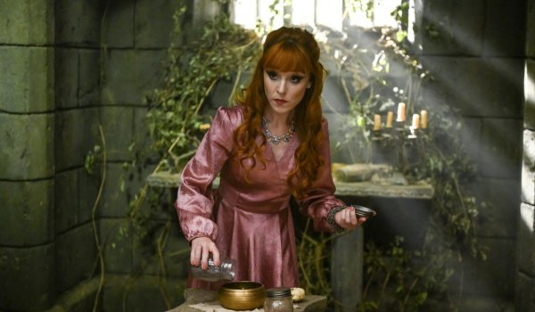 supernatural season 15 rowena the cw