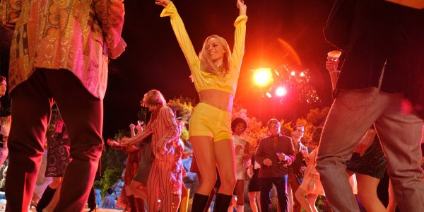 Once Upon A Time In Hollywood Margot Robbie dancing