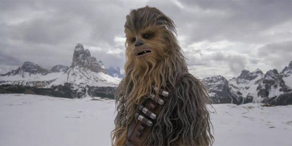 Chewbacca's full look in Solo: A Star Wars Story