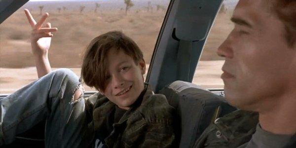 Terminator 2: Judgement Day John and the T-800 discuss language