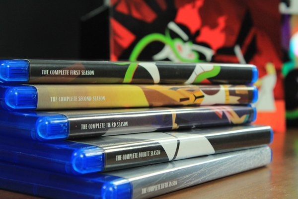Samurai Jack Blu-ray