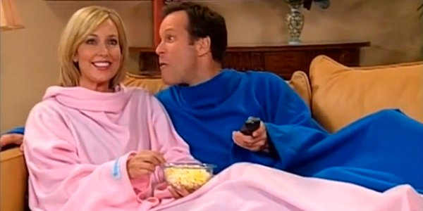 Snuggie couple Snuggie
