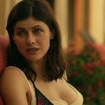 Here's Alexandra Daddario Going For It And Jumping Off A Cliff In A Bikini Like A Pro 💥👩👩💥