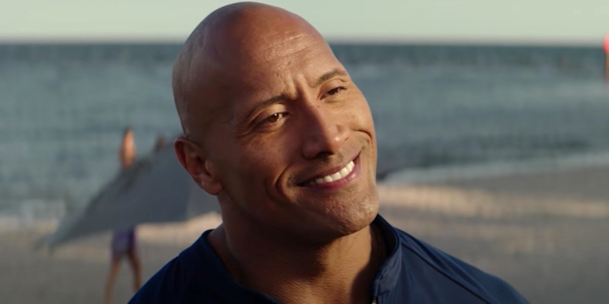Aw Helps Dwayne Johnson Girl With Her Hair In Her Cute Post