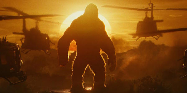 Image result for kong of skull island silhouette