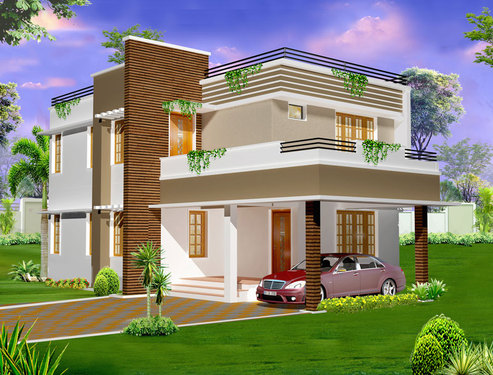 2 storey house plans designs in kerala architect in cherthala alappuzha click