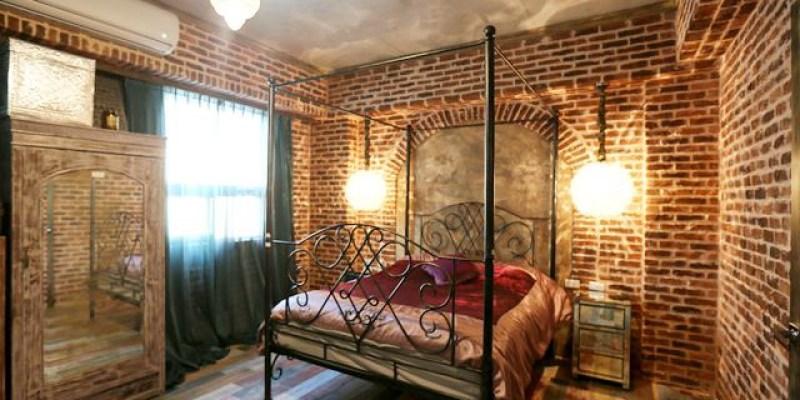 ▌台南民宿▌隱身豪宅裡的奇幻古堡 。復古奢華♥Antique House♥哈利波特風的魔法民宿