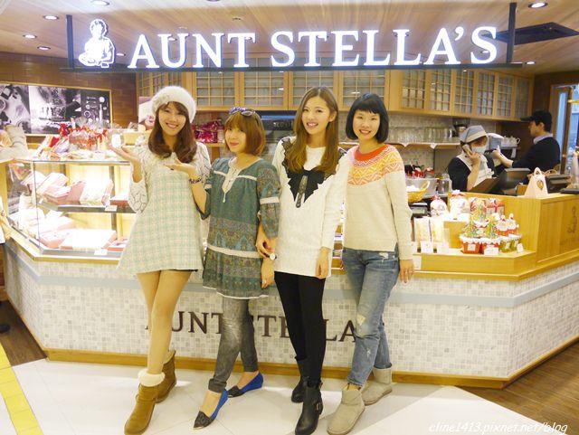 ▌東區下午茶▌姊妹淘聚會♥AUNT STELLA'S詩特莉♥鄉村風手工餅乾。下午茶(忠孝SOGO館)