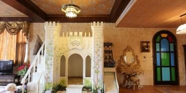 ▌宜蘭溜滑梯親子民宿▌♥芯園。我的夢中城堡♥最新皇后&國王城堡溜滑梯+浪漫蛋糕城堡