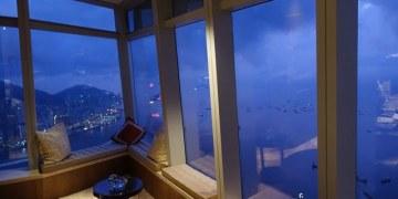 ▌香港飯店推薦 ▌坐擁奢華海景。全世界最高飯店♥The Ritz-Carlton Hong Kong麗思卡爾頓酒店♥維多利亞港美景盡收眼底