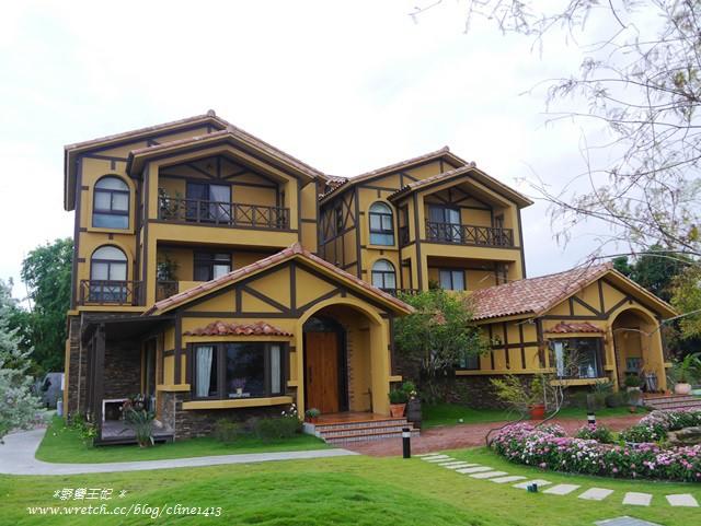 ▌宜蘭民宿▌彷彿童話城堡般的南法莊園♥夏米去散步♥ 跟我一起去散步