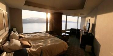 ▌日本廣島飯店▌無敵海景♥王子大飯店Grand Prince Hotel Hiroshima♥每個房間都是海景房。飯店有碼頭可搭船至宮島