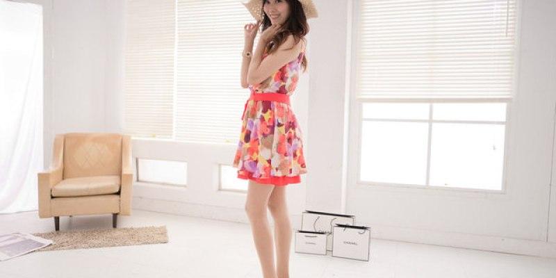【穿搭】第一次棚拍好新鮮♥5月Gini Shop美到翻 ♥玩色夏天.繽紛度假去