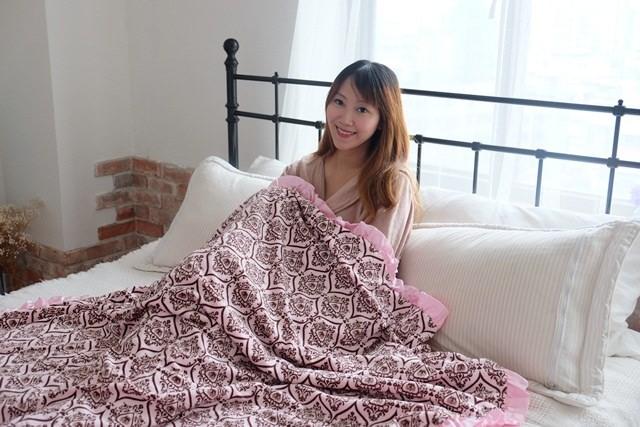 ▌已結團▌從0歲寶寶到媽媽都可用的夢幻花苞毯♥Angel n Bella美國頂級手工毯♥3/28~4/1限時五天團