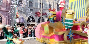 ▌日本環球影城▌2017最新【環球奇幻聖誕節】超強聖誕攻略、小小兵遊樂園哈利波特魔法世界「霍格華茲魔法之夜~冬季魔法