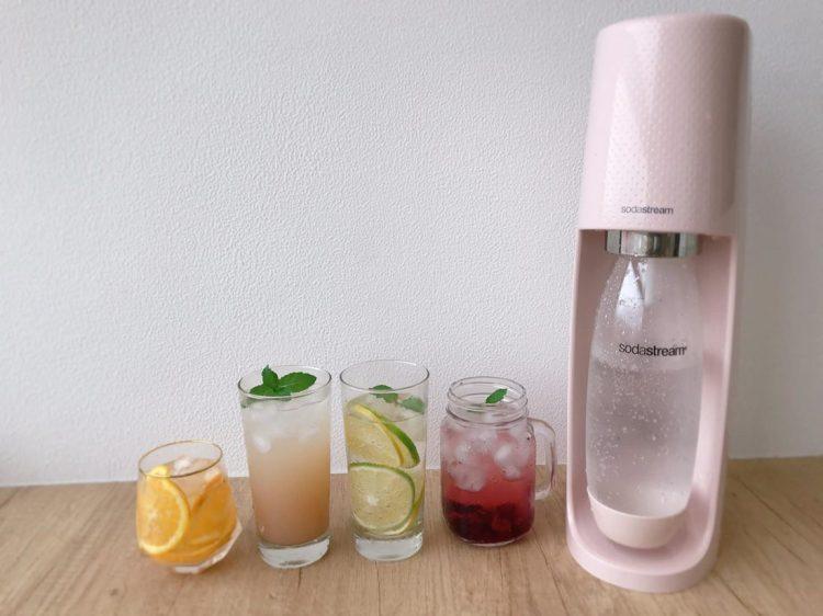 ▌團購▌在家就能夏日消暑氣泡飲【Sodastream氣泡水機】 2019限量夢幻新色「FIZZI芭蕾粉」