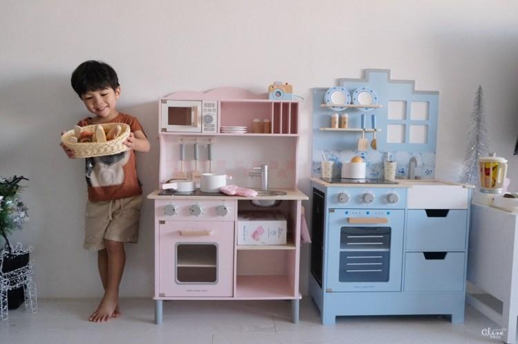 ▌聖誕禮物團▌北歐風質感玩具【荷蘭New Classic Toys木製廚房玩具組】新品首團(買聲光小廚房送盒裝雞蛋)