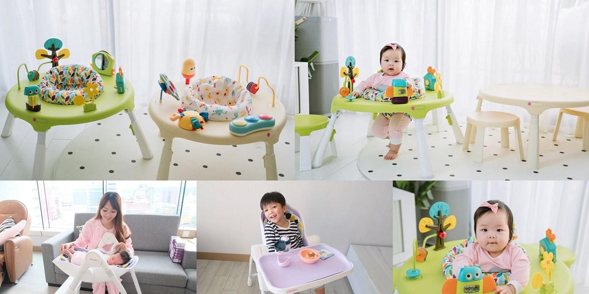 ▌團購▌新生兒就可使用的完美餐椅 【新加坡Oribel 成長型多功能餐椅、遊戲桌】+英國咬咬兜+澳洲副食品餐具
