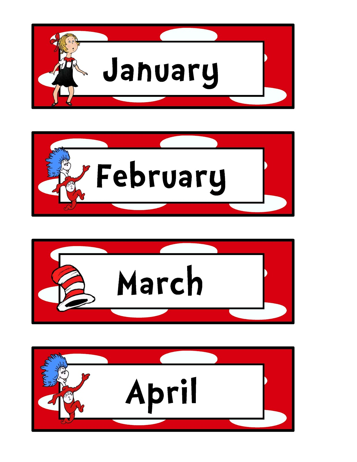 Months Of The Year Clipart Amp Look At Clip Art Images