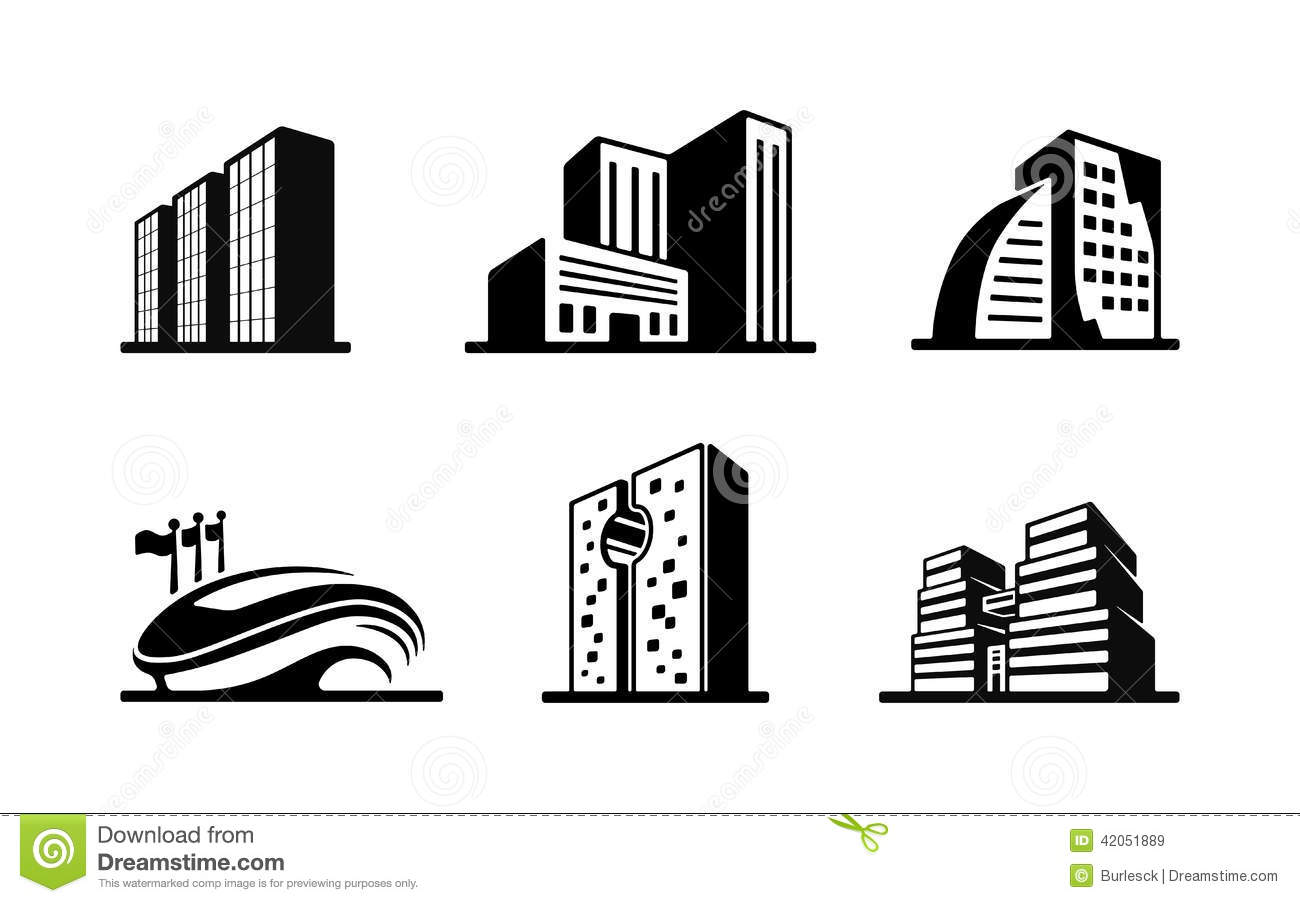 Building Clipart Black And White Amp Look At Clip Art Images
