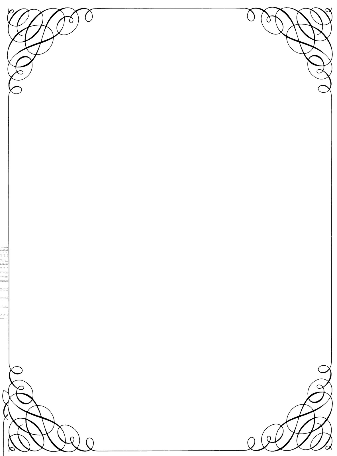 Free Border Clipart For Word Amp Look At Clip Art Images