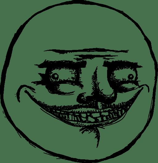 47 Troll Face Meme Png Meme Clipart Clipartlook