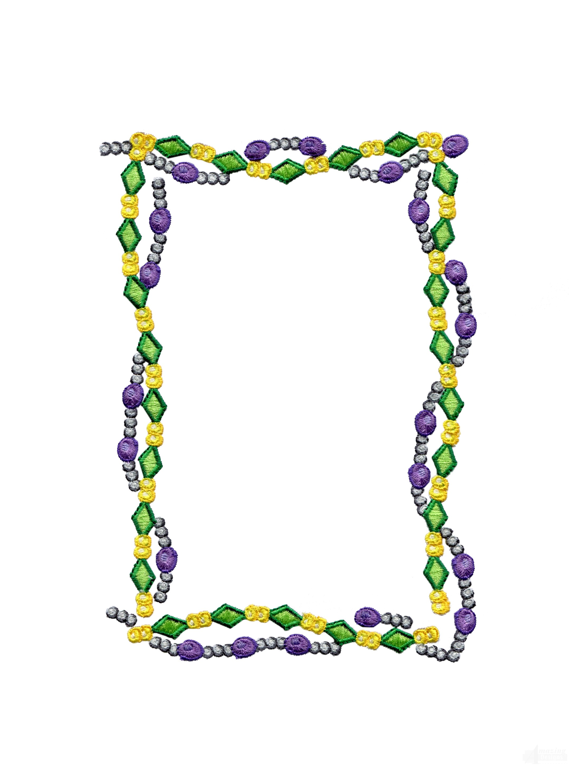 Mardi Gras Clip Art Borders