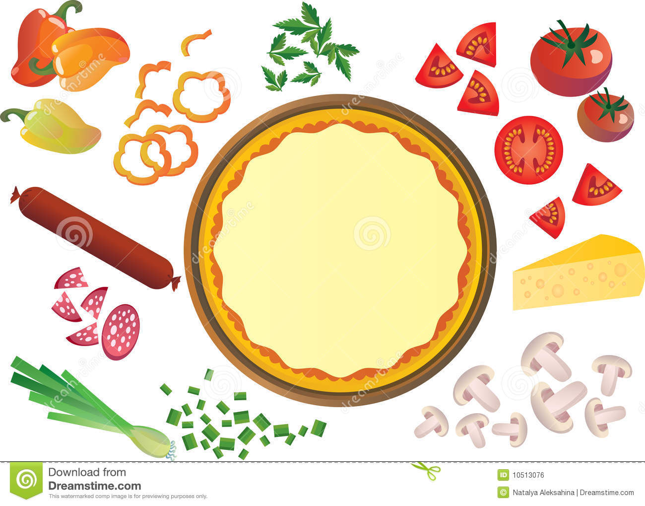Pizza Toppings Clipart Amp Look At Clip Art Images