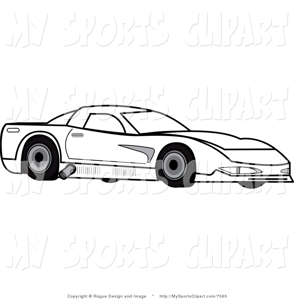 Race Car Clipart Black And White Amp Look At Clip Art Images