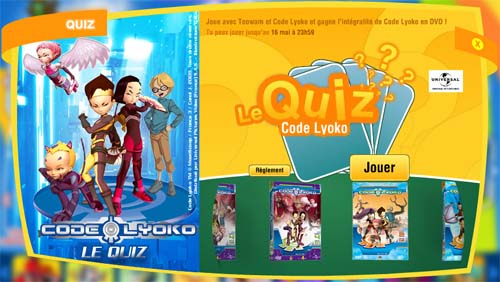 Quiz Code Lyoko