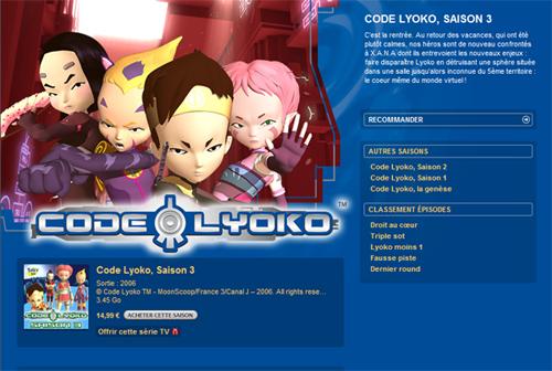 Codelyoko Saison 3 @ Itune